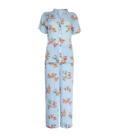 luna molly chinese collar pj set