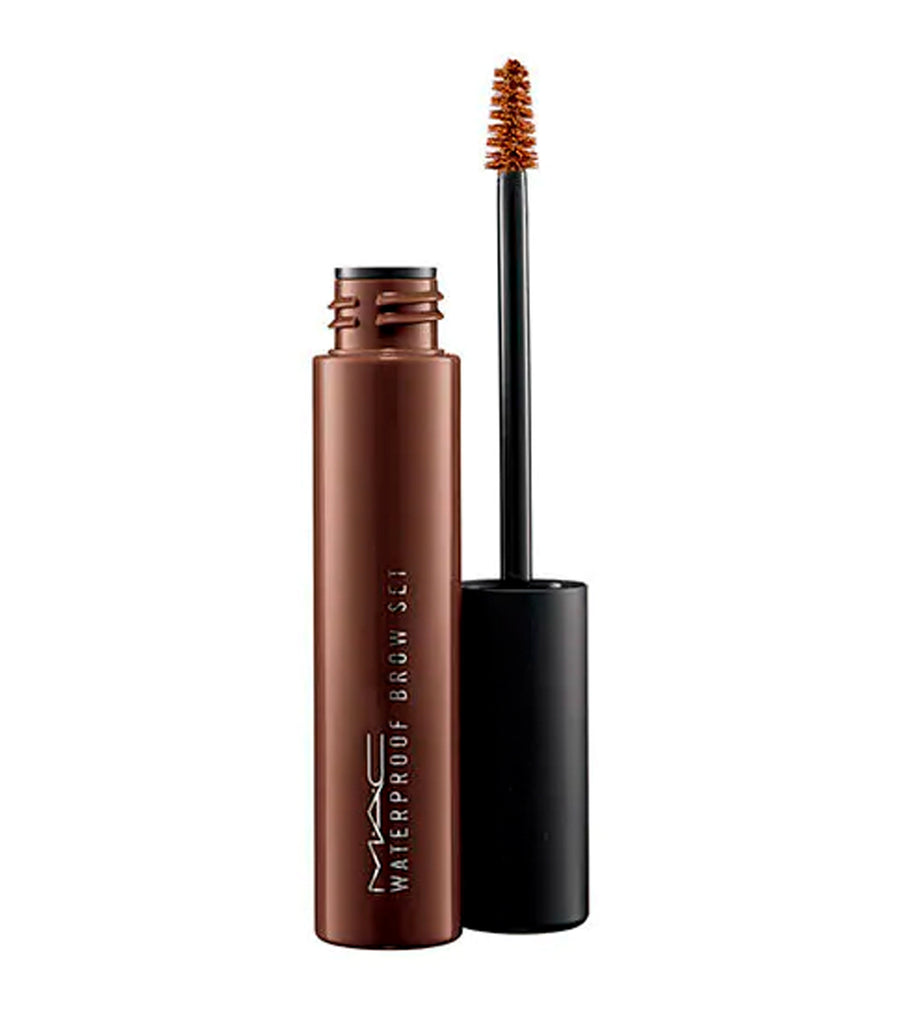 mac cosmetics brown ebony pro longwear waterproof brow set