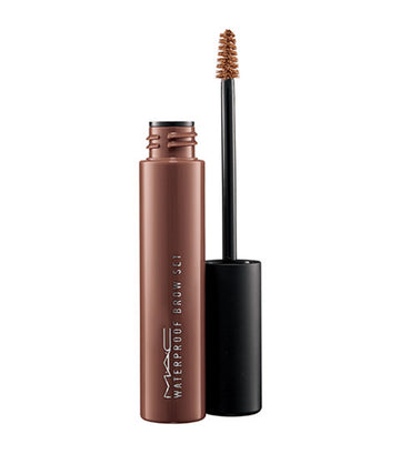 mac cosmetics quiet brunette pro longwear waterproof brow set