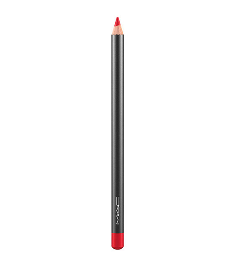 mac cosmetics ruby woo lip pencil