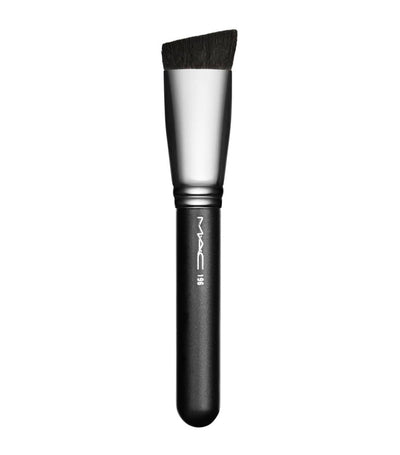 mac cosmetics 196 cosmetics slanted flat top foundation brush