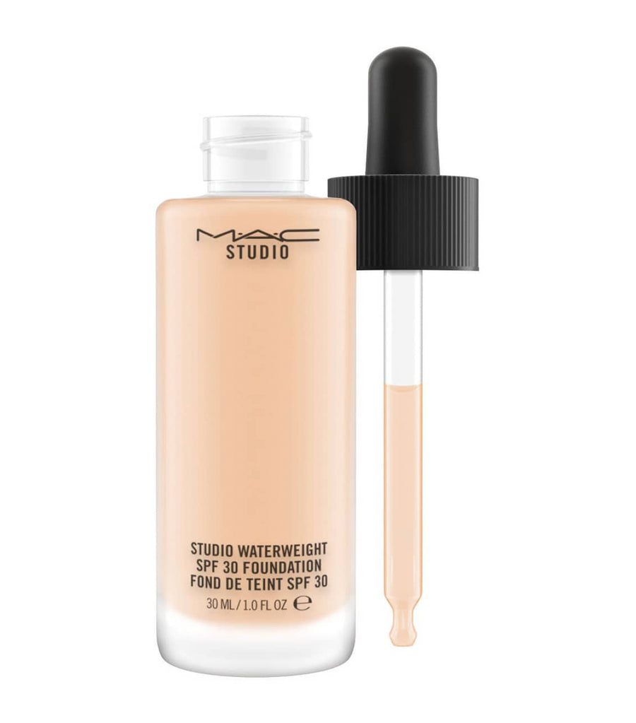mac cosmetics nc20 studio waterweight spf 30 foundation