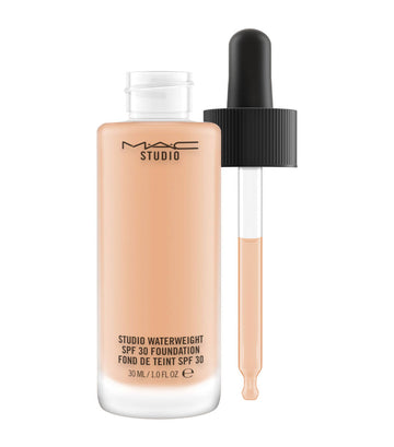 mac cosmetics nc35 studio waterweight spf 30 foundation