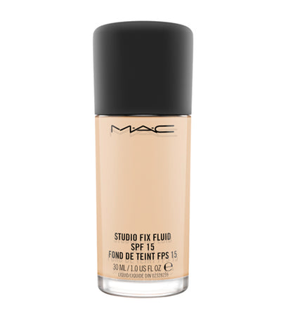 mac cosmetics nc15 studio fix fluid spf 15