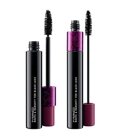 mac cosmetics haute and naughty too black lash mascara