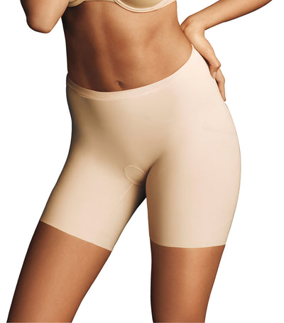 maidenform invisible power: mid-thigh paris nude