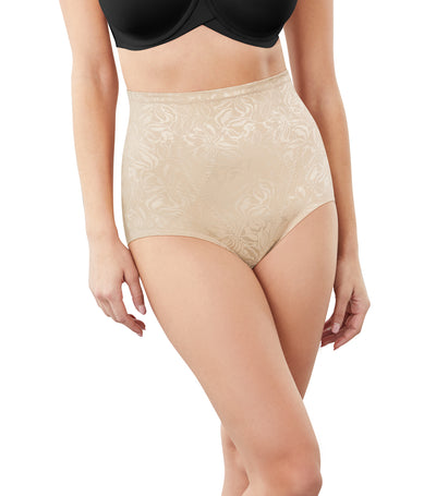 maidenform instant slimmer brief body beige