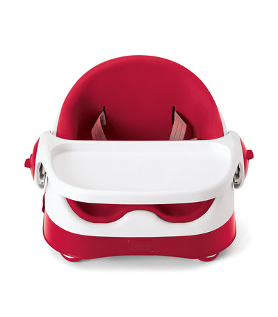 mamas & papas red baby bud booster seat