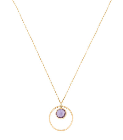 marco bicego jaipur yellow gold and amethyst necklace
