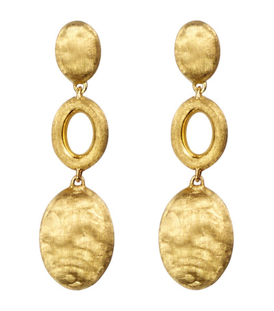 marco bicego siviglia yellow gold earrings
