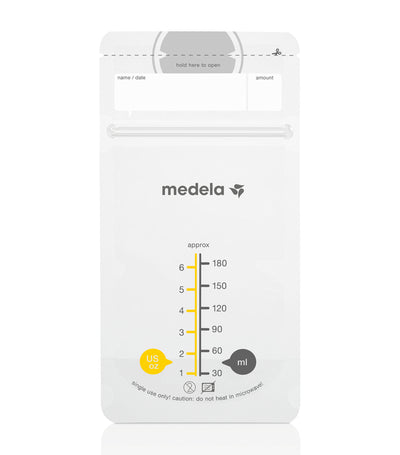 medela breast milk storage bags (50 count)