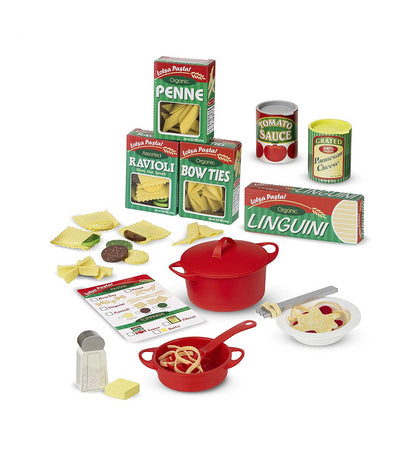 melissa & doug prepare and serve pasta set