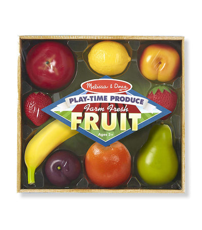 melissa & doug play-time produce farm fresh fruits