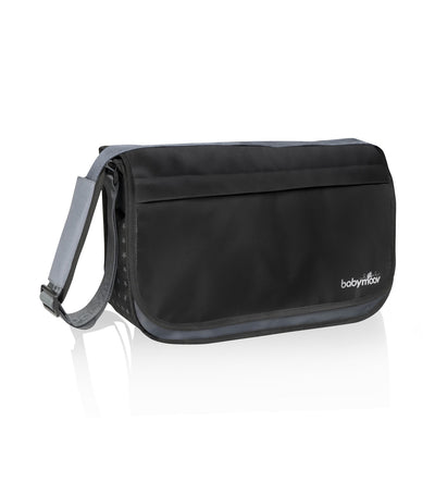 babymoov messenger diaper bag - black
