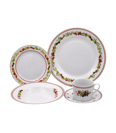 multiple choice 20-piece dinner set porcelain - settia