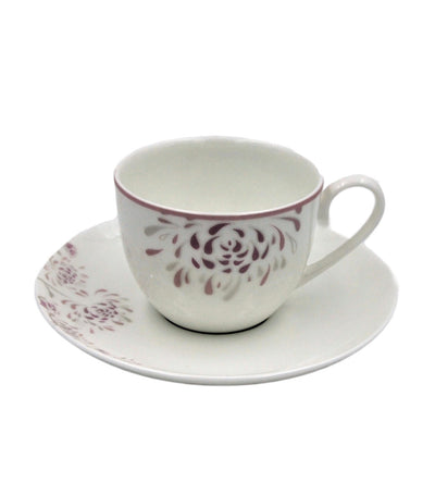 multiple choice flower works - tea cup & saucer