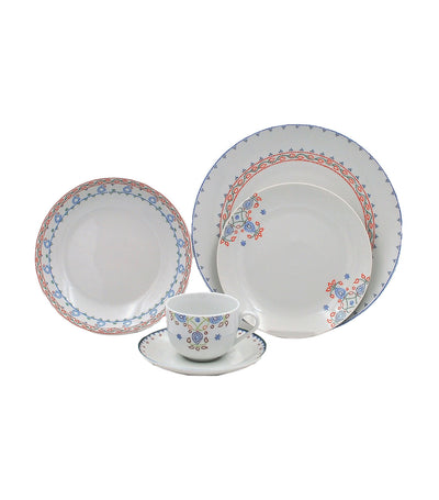 multiple choice 30-piece dinner set porcelain - lure