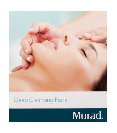 murad deep cleansing facial