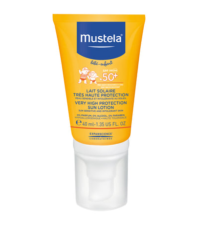 mustela very high protection sun lotion 40ml