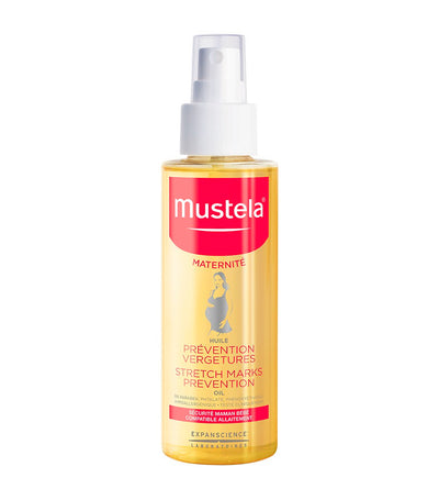 mustela stretch marks prevention oil 100ml