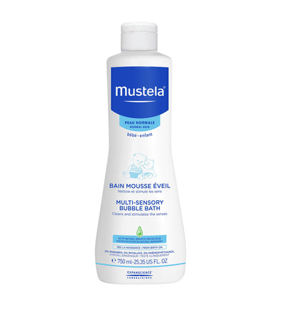 mustela multi-sensory bubble bath 750ml