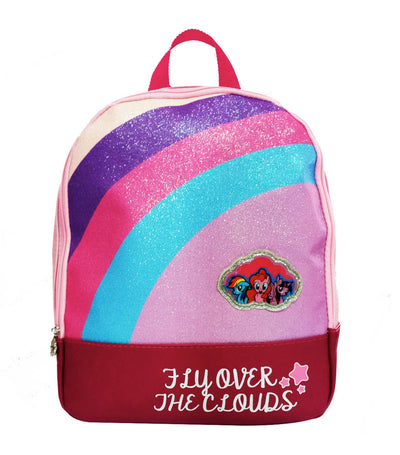 my little pony multicolor big leatherette backpack