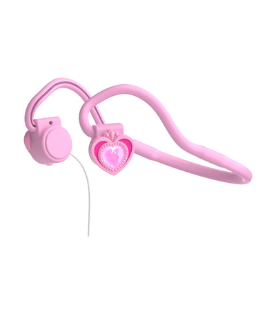 myfirst pink bone conduction headphones for kids