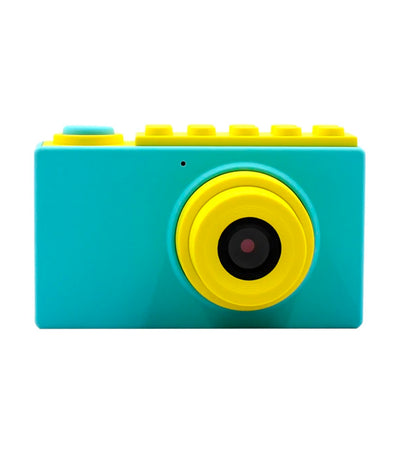 myfirst blue camera 2 8mp camera for kids with waterproof case