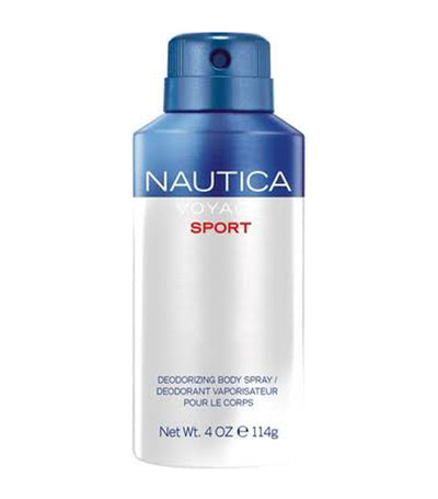 nautica voyage sport body spray