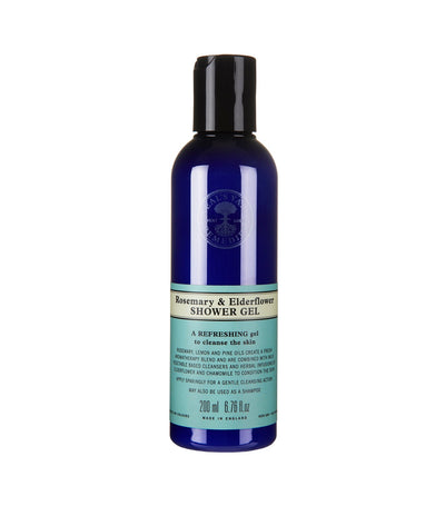 neal's yard remedies rosemary and elderflower shower gel