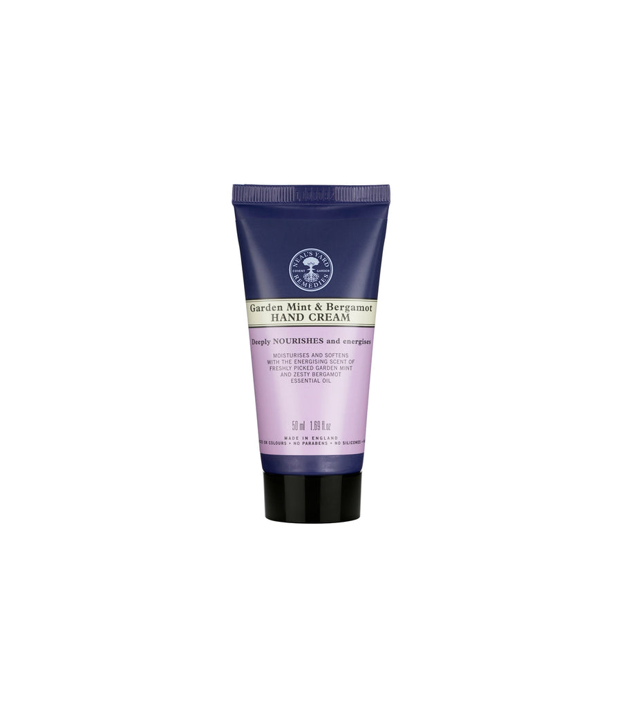 neal's yard remedies garden mint and bergamot hand cream