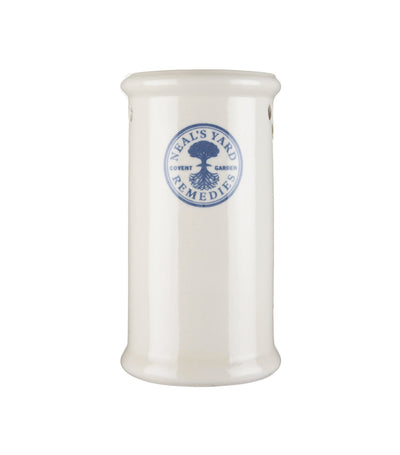 neal's yard remedies tall white china burner