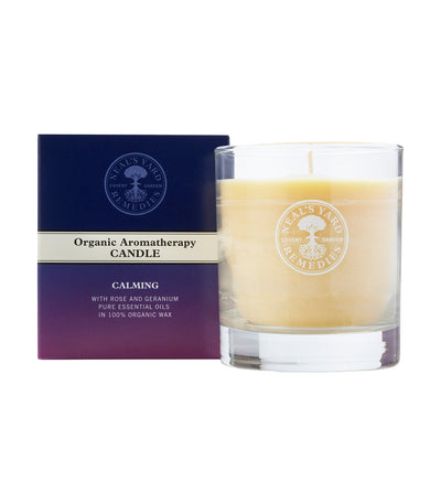 neal's yard remedies organic aromatherapy candle calming