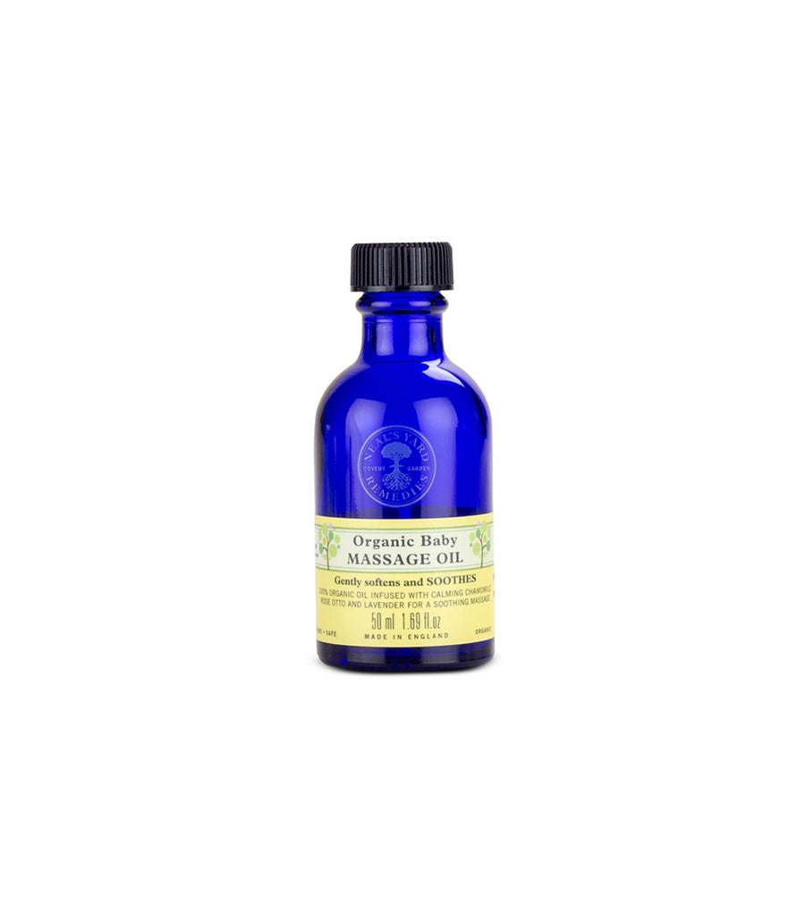 neal's yard remedies organic baby massage oil