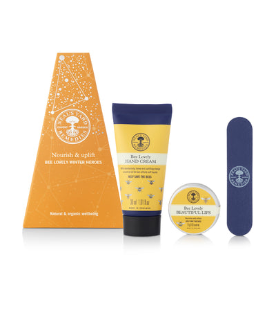 neal's yard remedies nourish & uplift bee lovely winter heroes