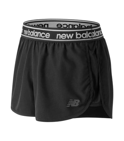 new balance accelerate 2.5 inch shorts in black