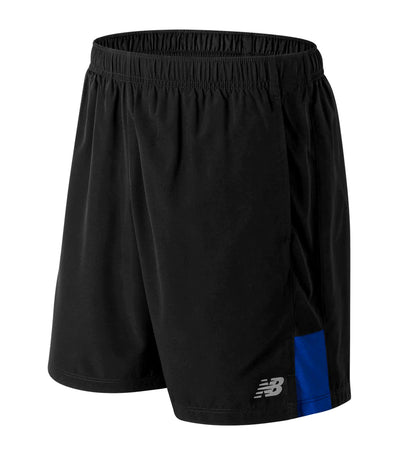 new balance accelerate 7 inch shorts blue