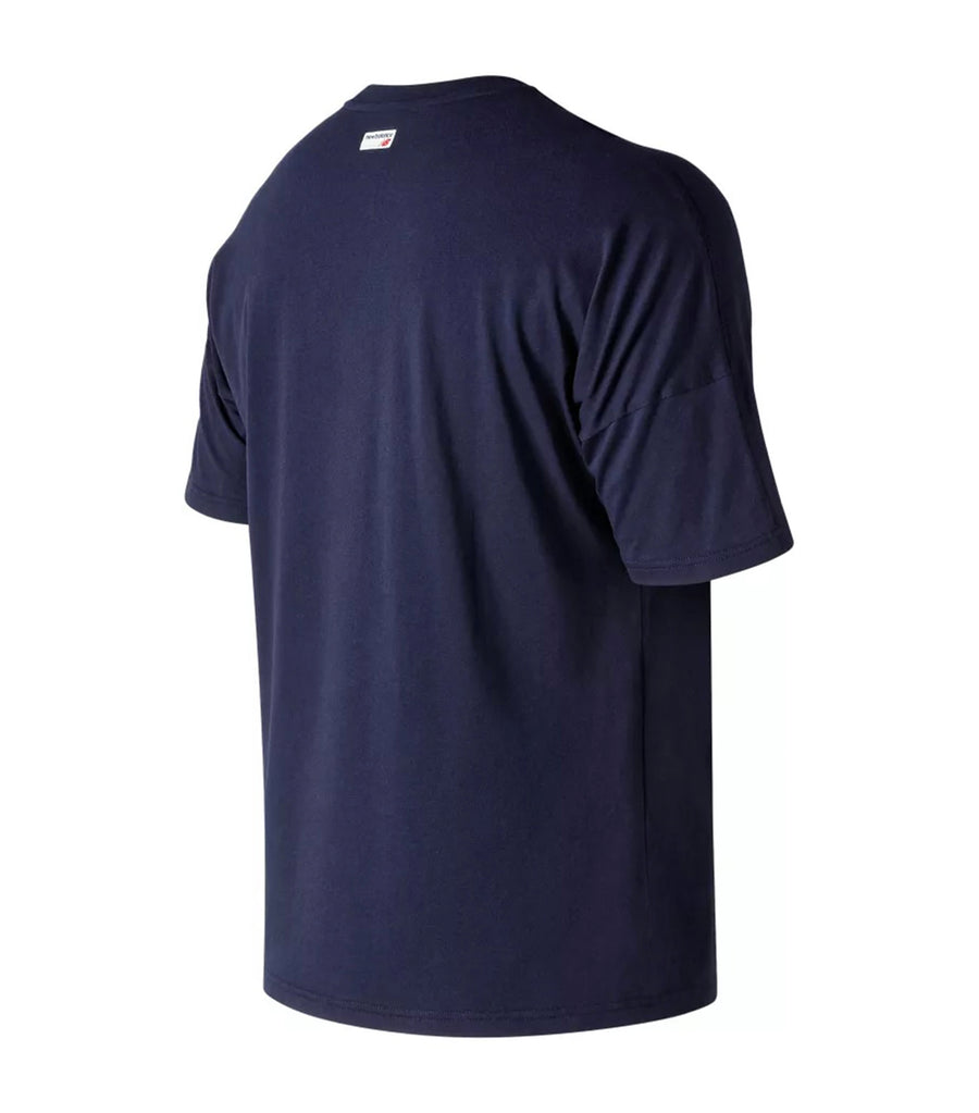 new balance nb athletics crossover t-shirt blue