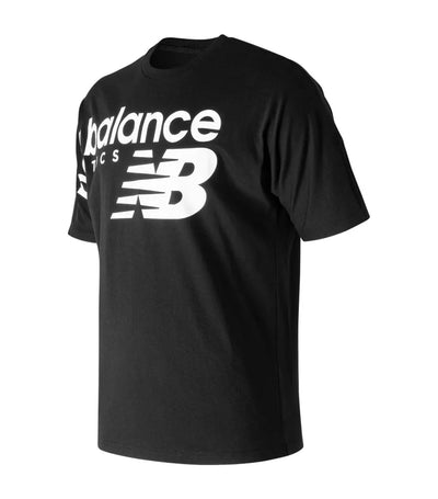 new balance nb athletics crossover t-shirt black
