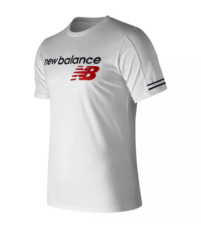 new balance nb athletics heritage t-shirt white