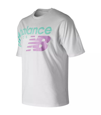 new balance nb athletics crossover t-shirt white