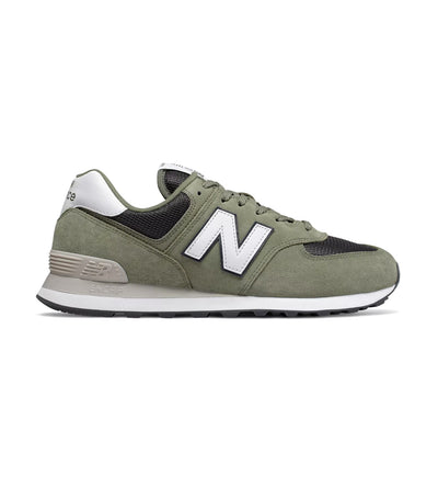 new balance 574 sneakers mineral green with outerspace