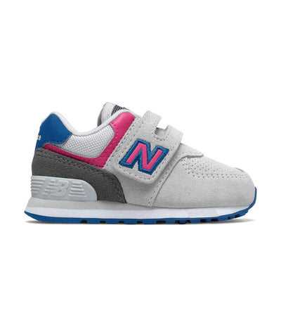 new balance kids light gray 574 classic outdoor