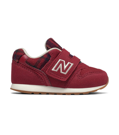 new balance kids red 996 tartan pack
