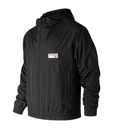 new balance nb athletics windbreaker black