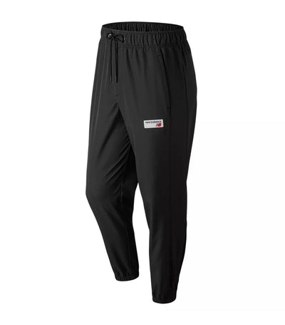 new balance nb athletic windbreaker pants black