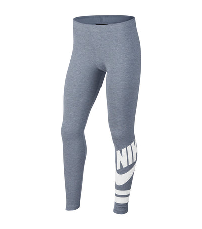 nike youth girls new favorite gx3 leggings gray