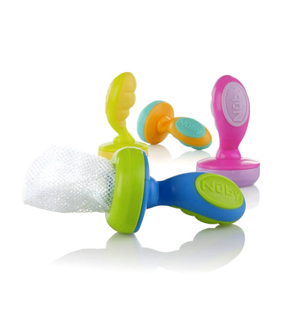 nuby assorted 1-piece the nibbler feeder