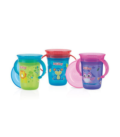 nuby assorted single 360° wonder cup™ 240ml