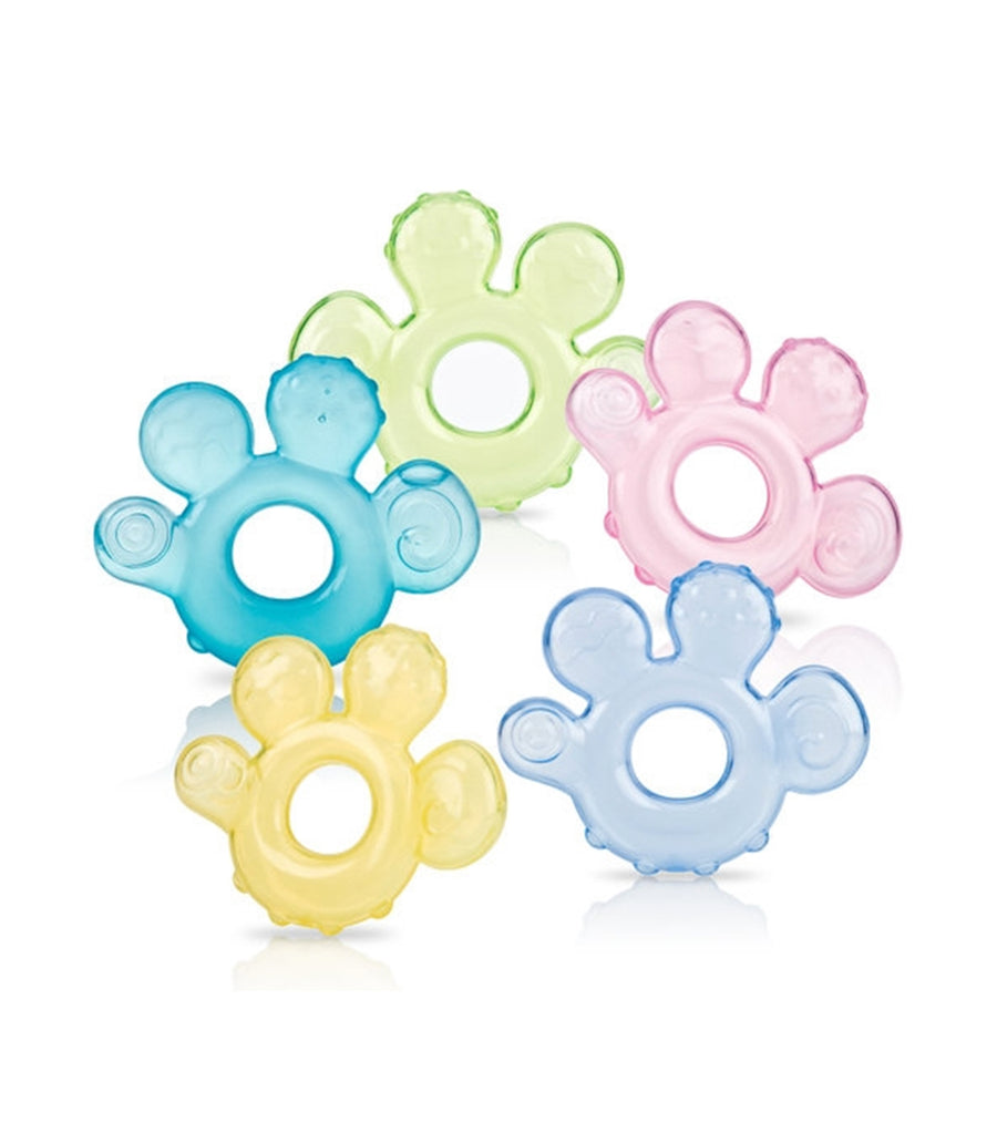 nuby assorted single ice gel hand teether